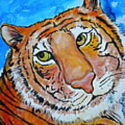 Richard Parker Art Print by Debi Starr