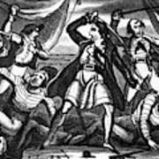 Richard Worley (c1686-1719) Art Print