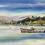 Richardson Bay Marin Art Print