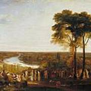 Richmond Hill On The Prince Regent's Birthday Art Print