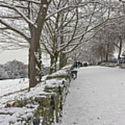 Richmond Hill Snow Art Print