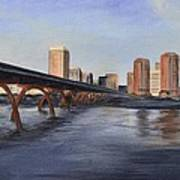 Richmond Virginia Skyline Art Print