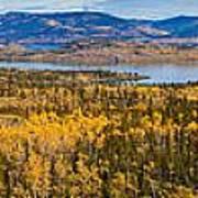 Richthofen Island Yukon Territory Canada Art Print