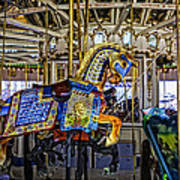 Ride A Painted Pony - Coney Island 2013 - Brooklyn - New York Art Print