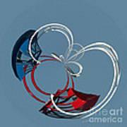 Ride The Ferris Wheel Art Print