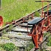 Ride The Rail Art Print