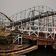 Ride The Roller Coaster Art Print