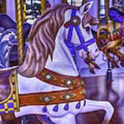 Ride The White Horse Art Print