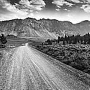 Riding To The Mountains Art Print