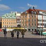 Riga Old Town 3 Art Print