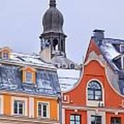 Riga Old Town Art Print