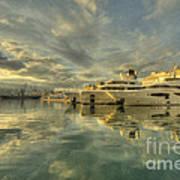 Rijeka Yachts  Art Print