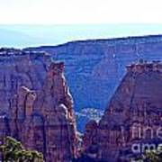 Rim Rock Colorado Art Print