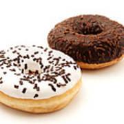 Ring Doughnuts Art Print