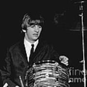 Ringo Starr, Beatles Concert, 1964 Art Print