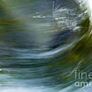 Rio Caldera Flow 2 Art Print