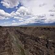 Rio Grande Gorge Art Print