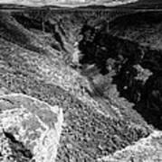 Rio Grande Gorge - Taos New Mexico Art Print