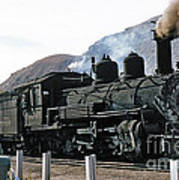 Rio Grande Railway Baldwin Built In 1903 No. 464 Circa 1955 Art Print