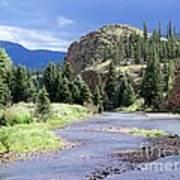 Rio Grande River Landscape Art Print