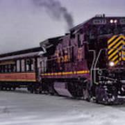 Rio Grande Scenic Railroad Art Print by Ellen Heaverlo