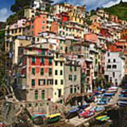 Rio Maggiore Marina Art Print