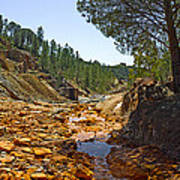 Rio Tinto Mines, Huelva Province Art Print
