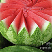 Ripe Watermelon Art Print
