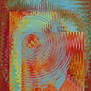 Rippling Colors No 2 Art Print