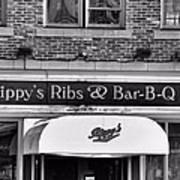 Rippy's Ribs And Bar Bq Art Print by Dan Sproul