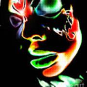 Rise Monarch Print by Kandayia Ali