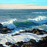 Rising Surf Art Print