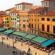 Ristorante Olivo Sas Piazza Bra Art Print