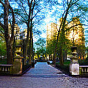 Rittenhouse Square Park Art Print