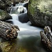 River And Rocks Art Print