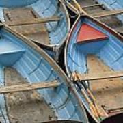 River Boats Art Print