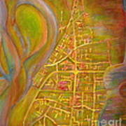 River City Blues Art Print