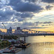 River City - D008587 Art Print