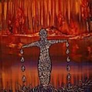 River Dance Art Print