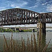 River Ferry Art Print