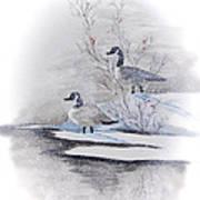 River Landing Art Print