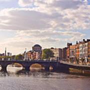 River Liffey 2 - Dublin Art Print