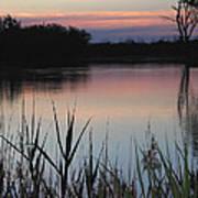 River Murray Sunset Series 2 Art Print