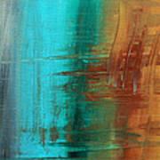 River Of Desire 21 By Madart Art Print