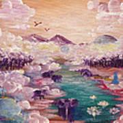 River Of Light Art Print
