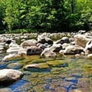 River Of Rocks Art Print