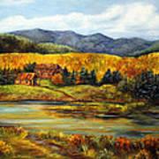 River Ranch Art Print