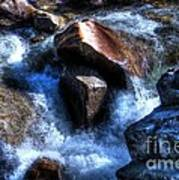 River  Rock Art Print