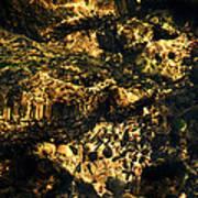 River Rock Reflections Art Print