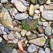 River Rocks 2 Art Print